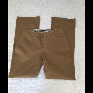 Burberry London Tan khaki Pants